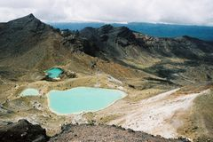 Vulkanlandschaft Stockbild