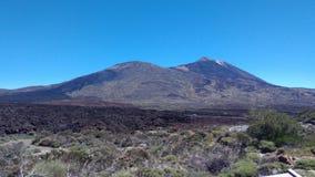 Vulkano-Magmaerdbeben stockbilder