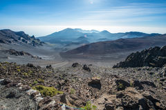 Vulkanregion Lizenzfreie Stockfotos