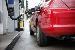 Vullend gas Stock Fotografie