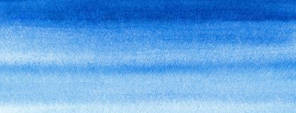 Vult de Mariene of marineblauwe de waterverfgradiënt van de Webbanner achtergrond Watercolourvlekken Samenvatting geschilderd mal royalty-vrije illustratie