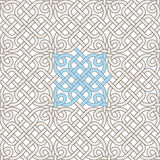 Vult het gotische venster van het ornament Royalty-vrije Stock Afbeelding