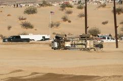 Vulten lastbil på flodursinnet på Laughlin, Nevada royaltyfri fotografi