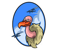 Vulture Air Force Badge Stock Photography