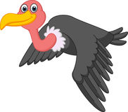Vulture cartoon Flying Royalty Free Stock Images