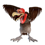 Vulture cartoon Royalty Free Stock Image