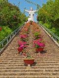 vung för jesus statytau vietnam royaltyfri bild