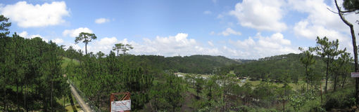 Vung Tau City Arkivbilder