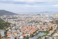 Vung Tau City Arkivbild