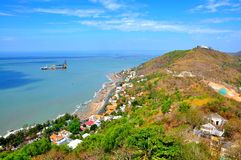 Vung Tau city from the mountain Stock Image