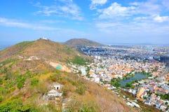 Vung Tau miasto od góry Obraz Stock