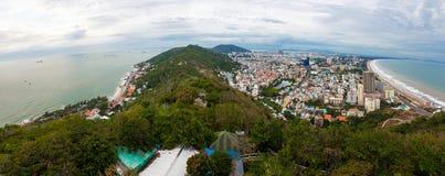 Vungtau, Vietnam, panorama of city Stock Photo