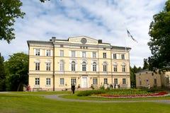 Vuojoki Mansion. Eurajoki. Finland Royalty Free Stock Photos