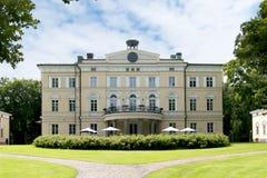 Vuojoki Mansion. Eurajoki. Finland Stock Photo