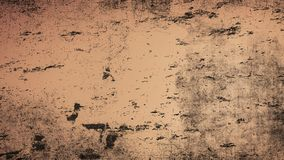 VUrban Texture Template. Brown Messy Dust Overlay Distress Background. Easy To Create Abstract Dotted, Scratched, Vintage Effect W stock image