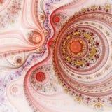 Vurig fractal patroon royalty-vrije illustratie