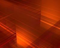 Vurige lijnen vector illustratie