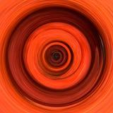 Vurige roodgloeiende storm Royalty-vrije Stock Afbeelding