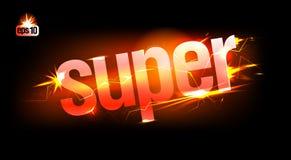 Vurige Super. Royalty-vrije Stock Fotografie
