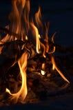 Vuur dichte omhoog 4 Royalty-vrije Stock Fotografie