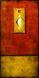 In vuur en vlam Royalty-vrije Stock Afbeeldingen