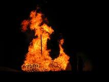 Vuur V Royalty-vrije Stock Afbeeldingen