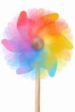 Vuurrad, roterend kleurrijk stuk speelgoed Royalty-vrije Stock Foto's