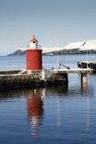 Vuurtoren in Alesund, Noorwegen Stock Fotografie
