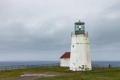 Vuurtoren bij Kaapspear Newfoundland royalty-vrije stock foto's