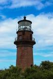 Vuurtoren in Cape Cod Massachusetts Stock Fotografie