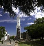 Vuurtoren - Colonia - Uruguay Stock Afbeeldingen