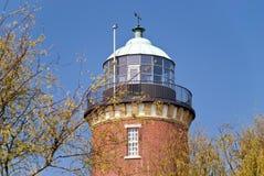 Vuurtoren Cuxhaven Stock Afbeelding