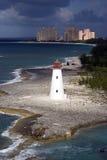 Vuurtoren in de Bahamas Stock Afbeelding