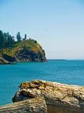Vuurtoren - de Teleurstelling WA de V.S. van de Kaap Royalty-vrije Stock Afbeeldingen
