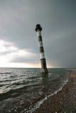 Vuurtoren in Estland Stock Afbeelding
