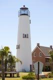 Vuurtoren in Florida Royalty-vrije Stock Fotografie