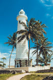 Vuurtoren in Galle. Stock Fotografie
