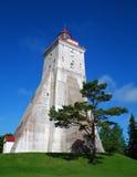 Vuurtoren in Hiiumaa Royalty-vrije Stock Afbeeldingen