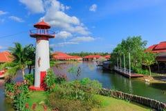 Vuurtoren in Hua Hin in Thailand stock fotografie