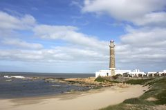 Vuurtoren in Jose Ignacio Royalty-vrije Stock Fotografie