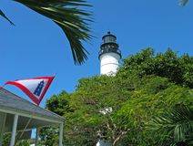 Vuurtoren, Key West, Florida Stock Foto