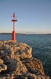 Vuurtoren, Kroatië Stock Afbeelding