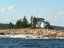 Vuurtoren in Maine de V.S. stock afbeeldingen