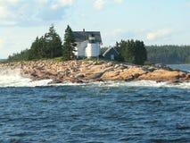 Vuurtoren in Maine de V.S. Stock Fotografie