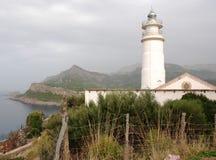 Vuurtoren in Mallorca Stock Fotografie