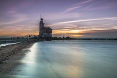 Vuurtoren Marken, Lighthouse Marken royalty free stock photography