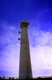 Vuurtoren, Morro DE Jable, Jandia playa, Fuerteve Royalty-vrije Stock Fotografie