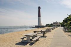 Vuurtoren in New Jersey op eiland royalty-vrije stock foto's