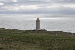 Vuurtoren in Noord-IJsland Royalty-vrije Stock Afbeeldingen
