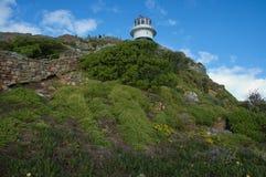 Vuurtoren op Kaap van Goede Hoop Stock Afbeelding